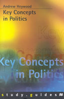 Key Concepts in Politics