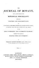 Pdf The Journal of Botany