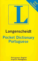 Langenscheidt Pocket Dictionary Portuguese