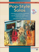Strictly Strings Pop-Style Solos for Violin