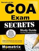 Secrets of the Coa Exam Study Guide