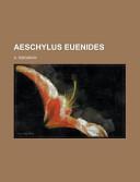 Aeschylus Euenides