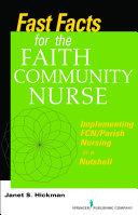 Fast Facts for the Faith Community Nurse