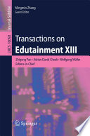 Transactions on Edutainment XIII