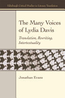 Many Voices of Lydia Davis