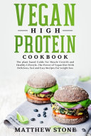 Vegan High Protein Cookbook