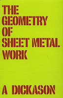 The Geometry of Sheet Metal Work for Students and Craftsmen