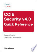 CCIE Security v4.0 Quick Reference