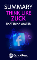 Think like Zuck by Ekaterina Walter (Summary) Pdf/ePub eBook