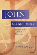 John for Beginners [Pdf/ePub] eBook