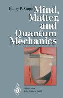 Mind, Matter, and Quantum Mechanics Pdf/ePub eBook