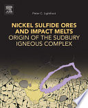 Nickel Sulfide Ores and Impact Melts Book
