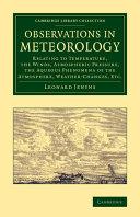 Observations in Meteorology ebook