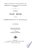 Official Year Book Of The Commonwealth Of Australia No 28 1935