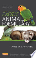 Exotic Animal Formulary   eBook Book