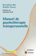 Pdf Manuel de psychothérapie transpersonnelle Telecharger