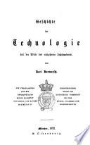 Geschichte der Technologie seit der Mitte des achtzehnten Jahrhunderts
