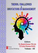 Trends  Challenges   Innovations in Management   Volume III