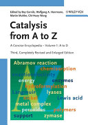 Catalysis From A To Z Book PDF