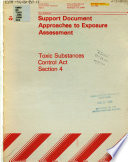 Support Document Approaches to Exposure Assessment