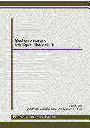 Mechatronics and Intelligent Materials III