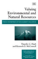 Valuing Environmental and Natural Resources: The ...