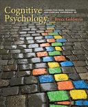 Cognitive Psychology   Mindtap Psychology  1 Term 6 Months Printed Access Card