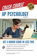 AP(R) Psychology Crash Course Book + Online