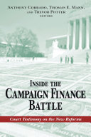 Inside the Campaign Finance Battle Pdf/ePub eBook