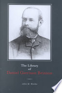 The Library of Daniel Garrison Brinton