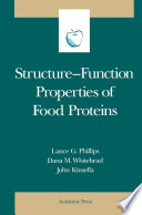 Structure Function Properties of Food Proteins