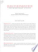 E Source Technology Atlas Series: Drivepower