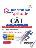 Quantitative Aptitude For Cat Other Mba Entrance Exams 4th Edition