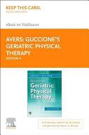 Guccione s Geriatric Physical Therapy