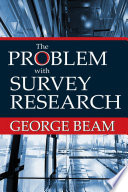 The Problem With Survey Research Book