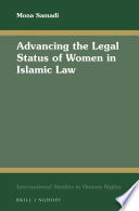 Advancing the Legal Status of Women in Islamic Law Book