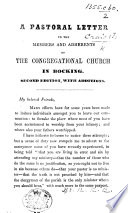 To the Members and Adherents of the Congregational Church in Bocking Book