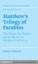 Matthew s Trilogy of Parables