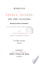 Memoirs of prince Rupert and the Cavaliers including their private correspondence Book