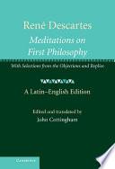Ren   Descartes  Meditations on First Philosophy