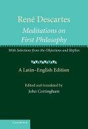 René Descartes: Meditations on First Philosophy
