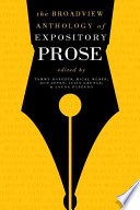 The Broadview Anthology Of Expository Prose Second Edition