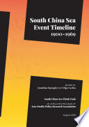 South China Sea Event Timeline  1900   1969