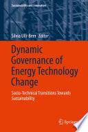 Dynamic Governance of Energy Technology Change Book