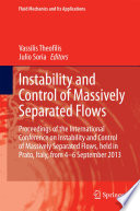 Instability and Control of Massively Separated Flows