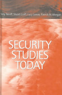 Cover of Security Studies Today