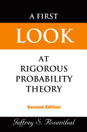 First Look At Rigorous Probability Theory, A (2nd Edition) [Pdf/ePub] eBook