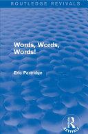 Words, Words Words! [Pdf/ePub] eBook