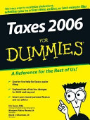 Taxes 2006 For Dummies