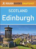 Edinburgh  Rough Guides Snapshot Scotland